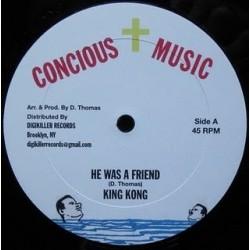 King Kong - He was a friend...