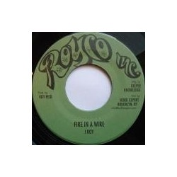 I Roy - Fire in a Wire 7''