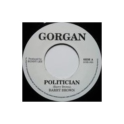 Barry Brown - Politician 7''