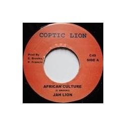 Jah Lion - African Culture 7''
