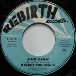 Jah Lion - Melody for Negus...