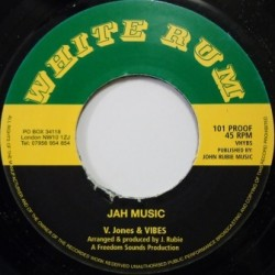 Vivian Jones - Jah Music 7''