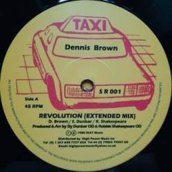 Dennis Brown - Revolution 12''