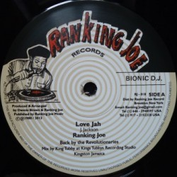 Ranking Joe - Love Jah 12''
