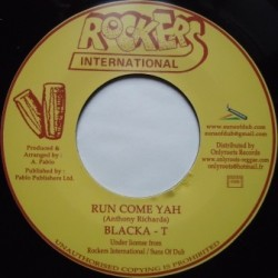 Blacka T - Run Come Yah 7''