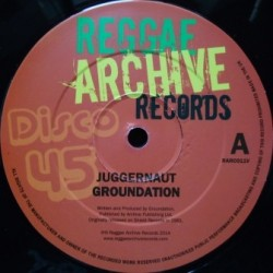 Groundation - Juggernaut 12''