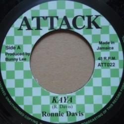 Ronnie Davis - Kaya 7''