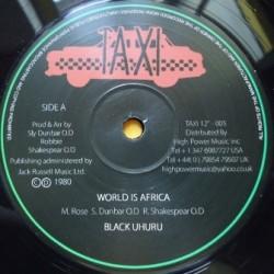 Black Uhuru - World is...