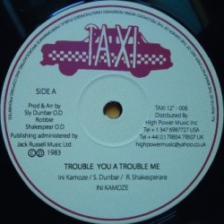 Ini Kamoze - Trouble you a...
