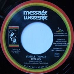 Tetrack - Simple Things 7''