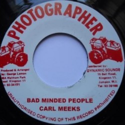 Carl Meeks - Bad Minded...
