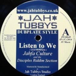 Jahfa Culture - Listen to...