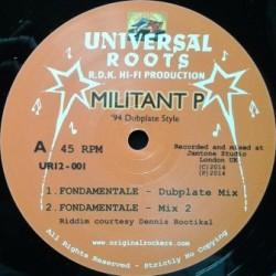 Militant P - Fondamentale 12''