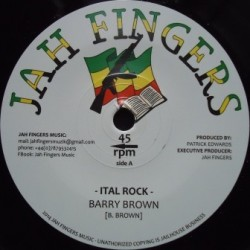 Barry Brown - Ital Rock 7''