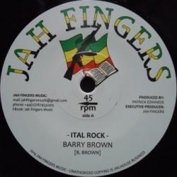 Barry Brown - Ital Rock 7''