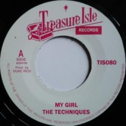 The Techniques - My Girl /...