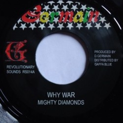 Mighty Diamonds - Why War 7''