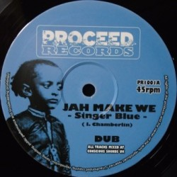Singer Blue - Jah Make We 10''