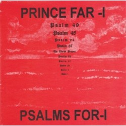 Prince Far I - Psalms for I LP