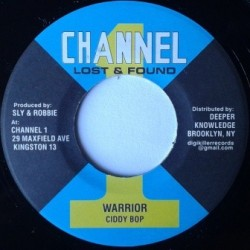 Ciddy Bop - Warrior 7''