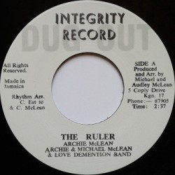 Archie McLean - The Ruler 7''