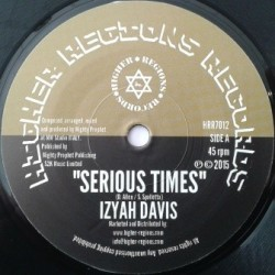 Izyah Davis - Serious Time 7''