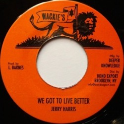 Jerry Harris - We Got to...