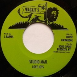 Love Joys - Studio Man 7''