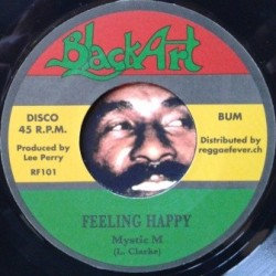 Mystic M - Feeling Happy 7''