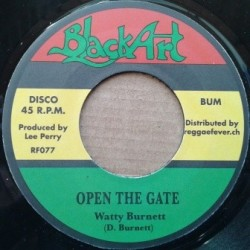 Watty Burnett - Open the...