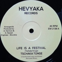 Tschaka Tonge - Life is a...
