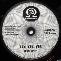 Errol Holt - Yes Yes Yes 12''