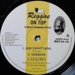 Chazbo - Jah Lightning 10''