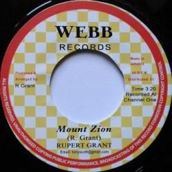 Rupert Grant - Mount Zion 7''