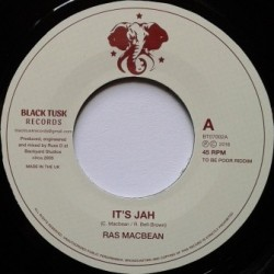 Ras McBean - It's Jah 7''