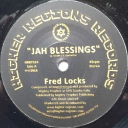 Fred Locks - Jah Blessings 7''