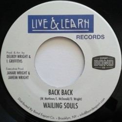 Wailing Souls - Back Back 7''