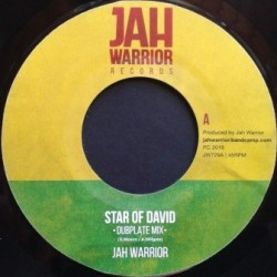 Jah Warrior - Star of David...