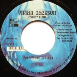 Yabby You - Babylon a Fall 7''