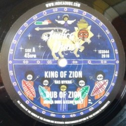 Ras Mykha - King Of Zion 10''