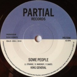 King General - Some People 7''