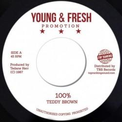 Teddy Brown - 100%