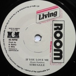 Struggle - If You Love Me 7''