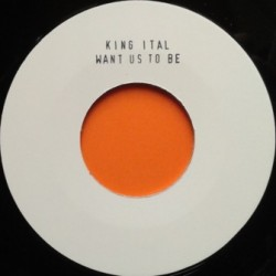 King Ital - Want us to Be 7''