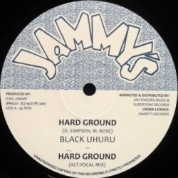 Black Uhuru - Hard Ground 12''