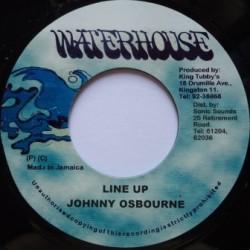 Johnny Osbourne - Line up 7''