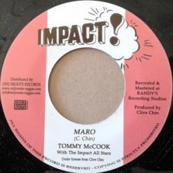 Tommy McCook - Maro 7''