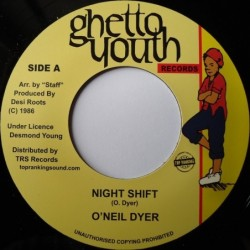 O'Neil Dyer - Night Shift 7''