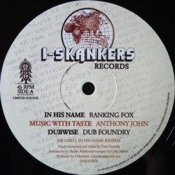 Ranking Fox - In His Name 12''