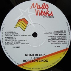 Hopeton Lindo - Road Block...